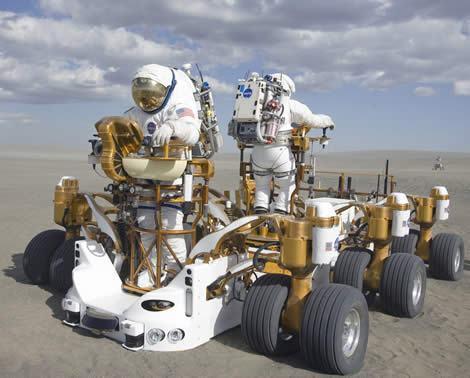 NASA Testa Veículo Robótico para Voltar a Lua