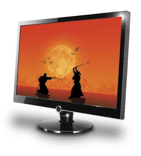 Monitor com Media Player da AOC!
