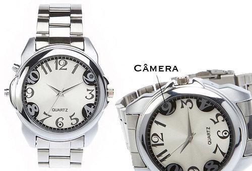 Relógio de Pulso Espião com Câmera Escondida!