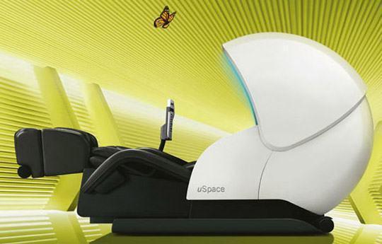 OSIM uSpace: Uma Cadeira de Massagem Estilo Ficção Científica