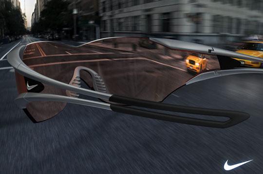 Conceito: Óculos de Visão Periférica da Nike