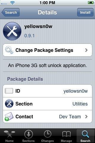 Presente de Ano Novo do Dev-Team: O Tão Sonhado Unlock do seu iPhone 3G!!!