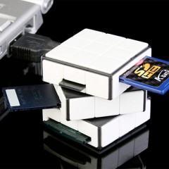 Cubo de Rubik Versão Leitor de Cartões!