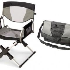 Uma Cadeira Dobrável que Você Leva na Mochila