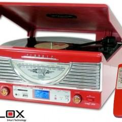 Turntable Italiana com Design Retro!