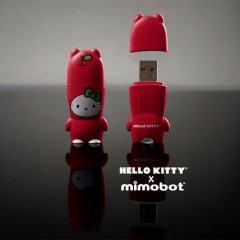 Mimobots em Homenagem aos 35 Anos da Hello Kitty!