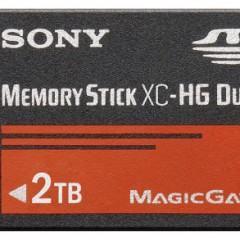 Vem Aí o Memory Stick XC com 2TB de Capacidade!