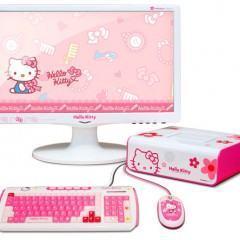 Desktop da Hello Kitty!
