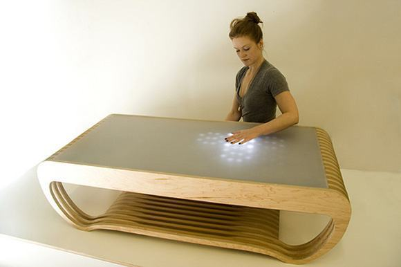 Interactive-LED-Coffee-Table-Ripple