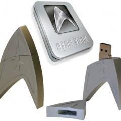 Pendrive Star Trek vem com o Filme de J.J. Abrams Gravado!
