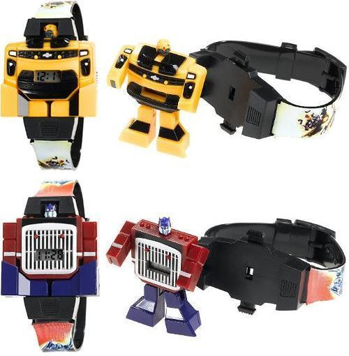 582cc1b21 Relógios de Pulso Transformers: Optimus Prime e Bumblebee