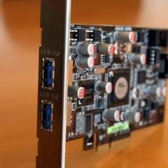 Placa de expansão PCI-Express da Asus com portas USB 3.0
