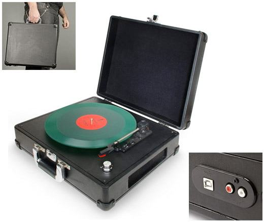 Briefcase-USB-Turntable