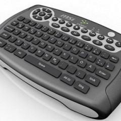 Teclado MSI HTPC com mouse e acelerômetro