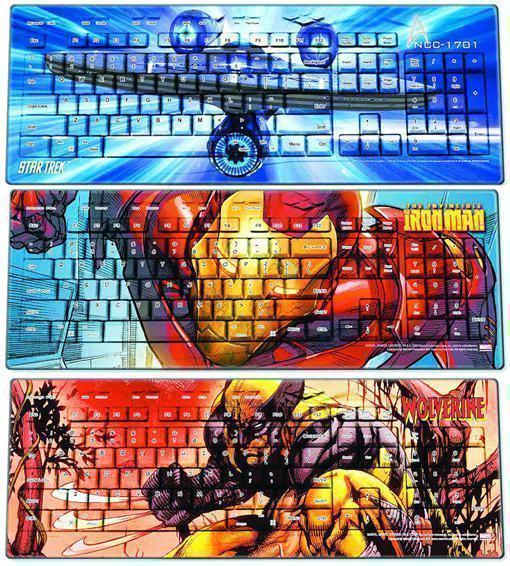 Teclado-Mouse-Star-Trek-Iron-Man-01