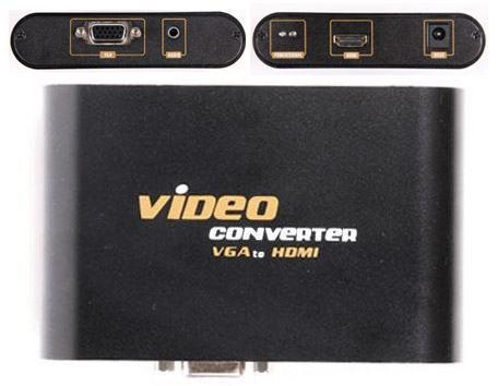 VGA-to-HDMI