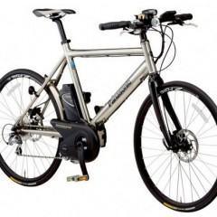 Panasonic BE-ENV, Uma Bicicleta Elétrica de Titânio!