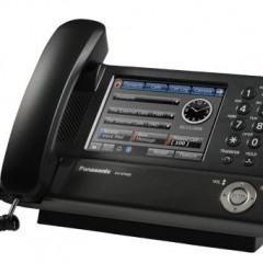Telefone Fixo da Panasonic com LCD Touchscreen