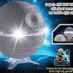 Projetor Death Star: A Galáxia Muito, Muito Distante no seu Quarto!