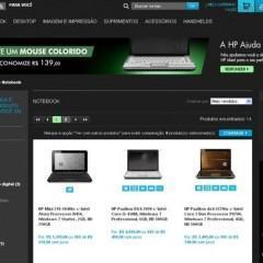 Promoção de Lançamento da Loja Online da HP com 2 Mochilas e 3 Kits!