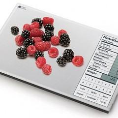 Balança de Cozinha com Informações Nutricionais