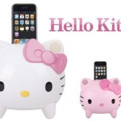 Dock Hello Kitty para iPhone e iPod Touch