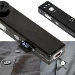 Câmera HD Escondida num Botão de Roupa