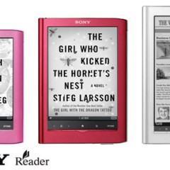 3 Novos Leitores de eBooks da Sony