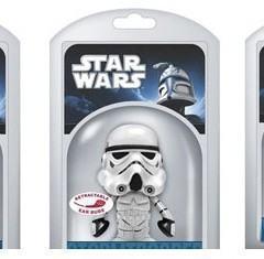 Star Wars Earbuds: Darth Vader, Stormtrooper e Yoda