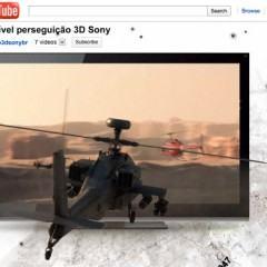 Entre no Mundo 3D da Sony em uma Incrível Perseguição de Helicópteros!