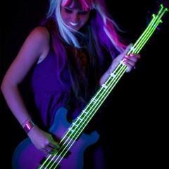 Cordas de Guitarra Neon Brilham com Luz Ultravioleta