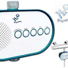 Rádio Alimentado pela Pressão da Água – Música no Chuveiro