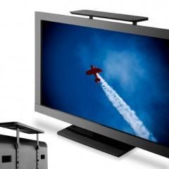 Coloque Seus Gadgets em Cima da TV com a Prateleira ScreenDeck
