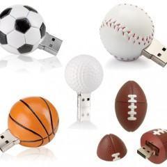 Flash Drives em Forma de Bolas de Futebol 02f820544a47e