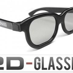 Óculos Transforma Cinema 3D em 2D!