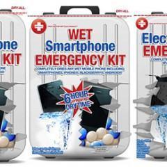 Kit Dry-All Promete Secar Gadgets Afogados!