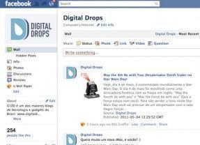 E aí, Já Curtiu a Página do Digital Drops no Facebook?