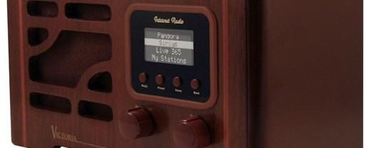 Rádio Moderno com Visual Retro Anos 40
