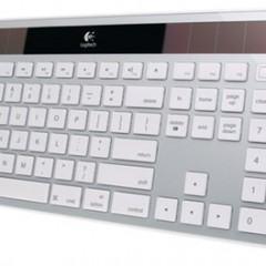 Teclado Solar Logitech K750 para Mac com 3 Meses de Autonomia