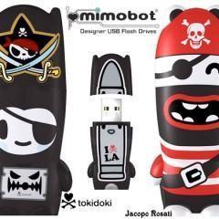 Mimobots Piratas dos Sete Mares – Novos Designer Flash Drives da Mimoco