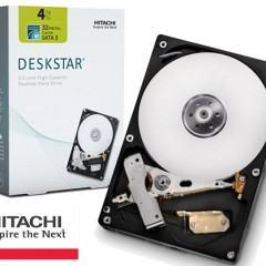 Hitachi Lança o Primeiro Disco Rígido Interno de 4TB