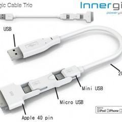 Magic Cable Trio – Cabo USB 3 em 1