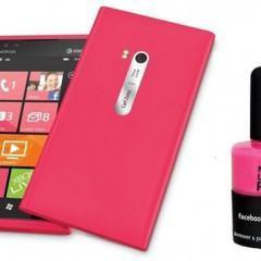 Nokia Cria Esmalte de Unha Rosa para Combinar com o Pink Nokia Lumia 900