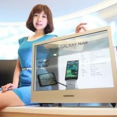 Samsung Lança Tela Transparente