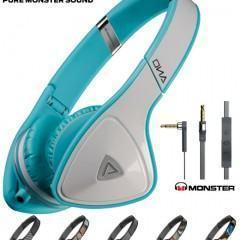 Monster DNA On-Ear – Novo Headphone Triangular da Monster