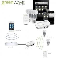 Lâmpadas LED com Wi-Fi e Controle Via Smartphone