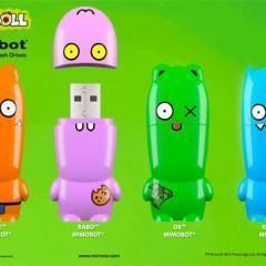 Uglydoll X Mimobot – Designer Flash Drives das Bonecas Feias