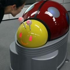 Uma Joaninha Robô para Limpar Banheiros
