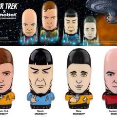Flash Drives Mimobot Star Trek: Kirk, Spock, Picard e Data