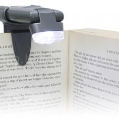 Uma Luz USB para Leitura Noturna